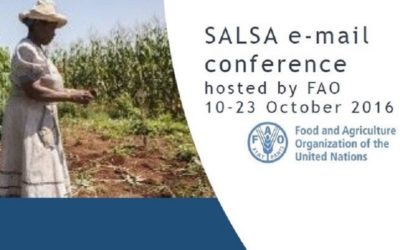 FAO e-conference October 2016