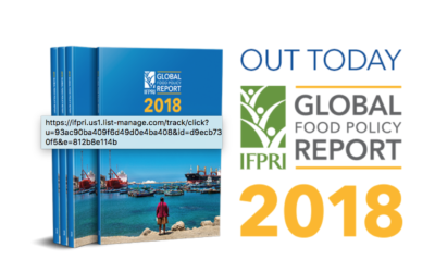 2018 Global Food Policy Report now available